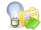 Content Gathering icon, part of e-learning development workflow